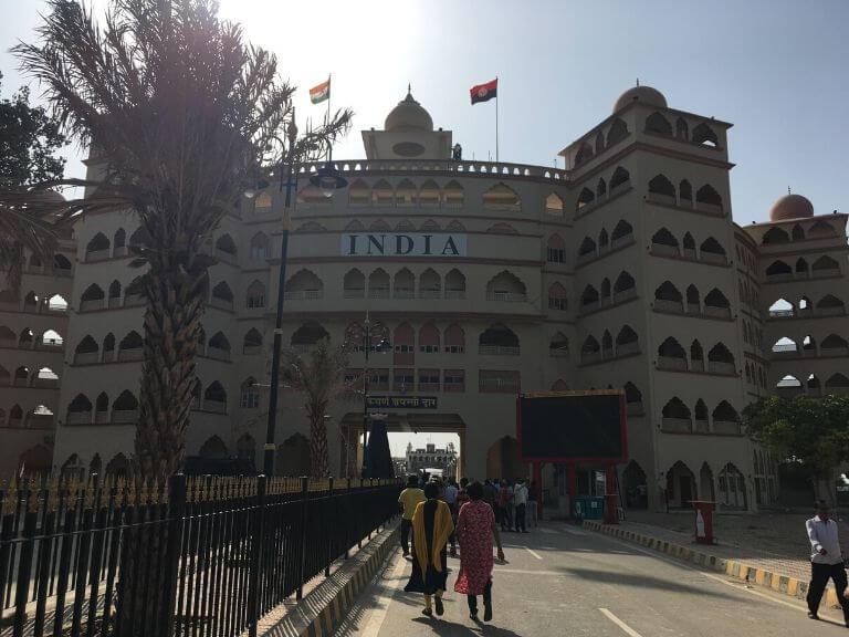 Swarna Jayanti Dwar, Wagah Border