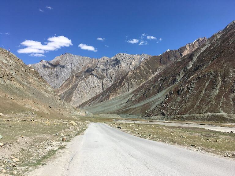 After Zoji La pass towards Kargil entrance check-post