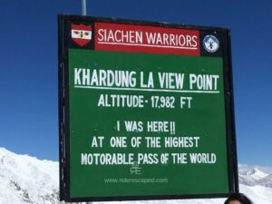 Ladakh Ride Day 12 At Last Khardung La Feature Image