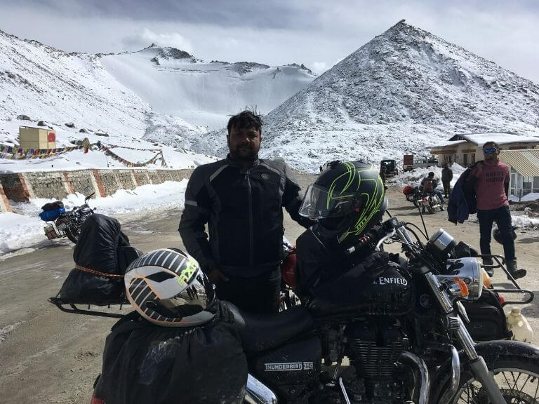 Me at Changla Pass