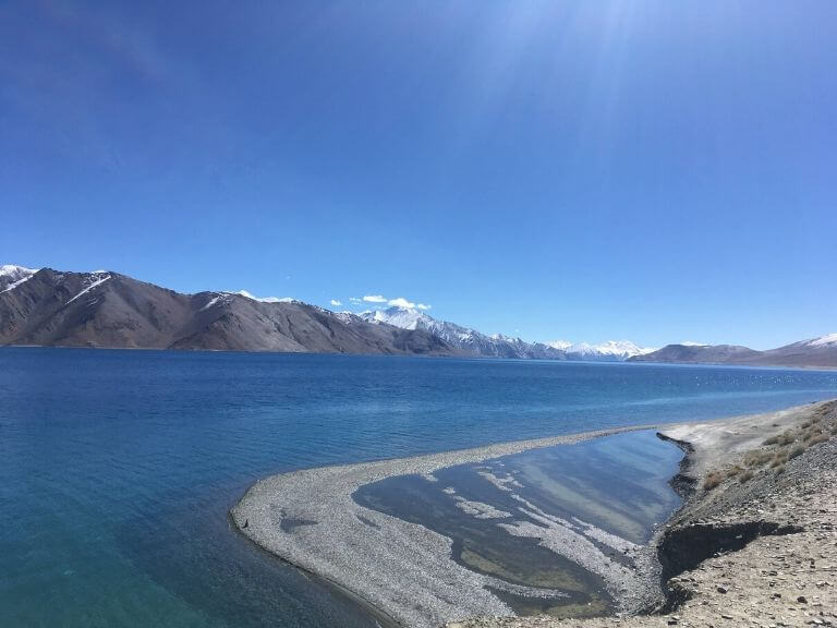 Pangong Lake from 3 Idiots View Point