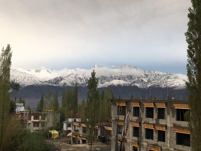 View from Hotel Ladakh Heaven 2, Leh