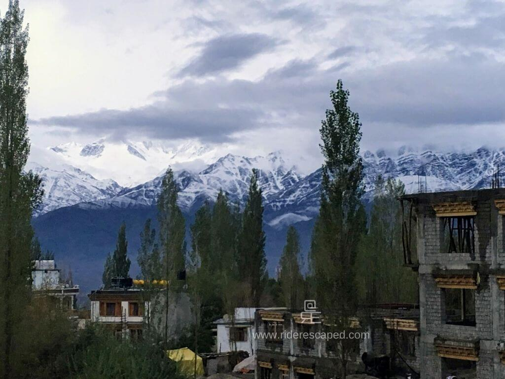 View from Hotel Ladakh Heaven, Leh Featured Image