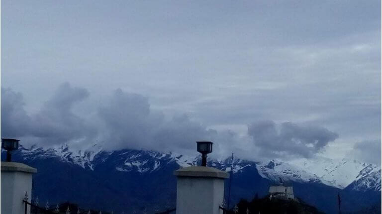 View from LAHDC office, Leh