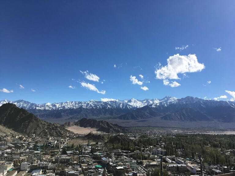 View from Leh Palace Roof, Leh