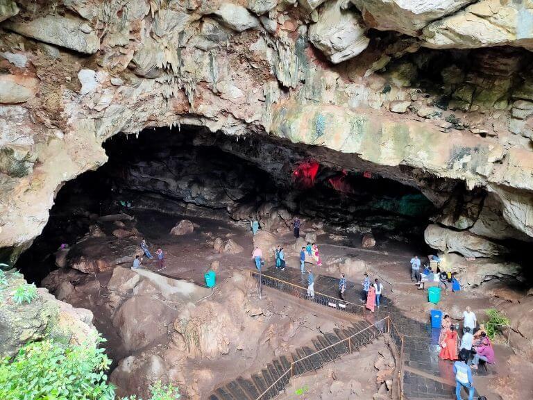 Borra Cave
