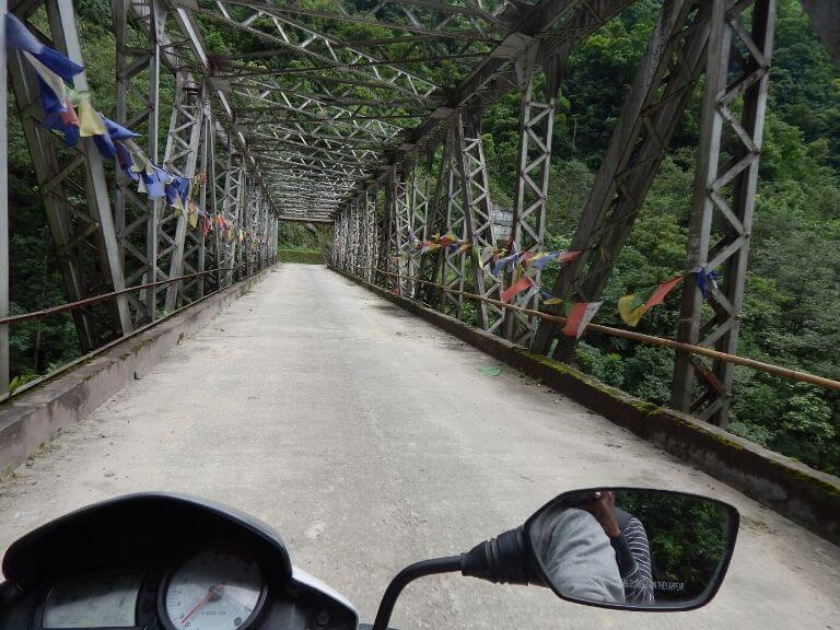 Iron Bridge near Pelling