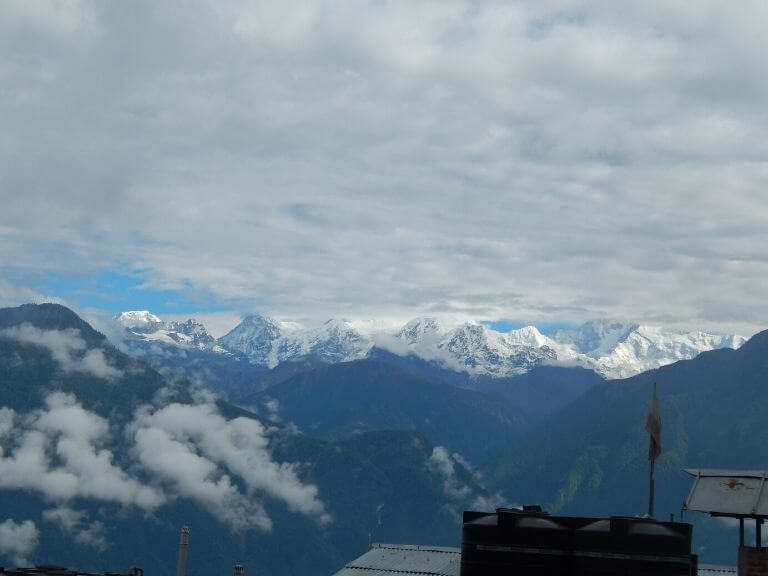 Kanchenjunga View from Hotel Garuda, Pelling