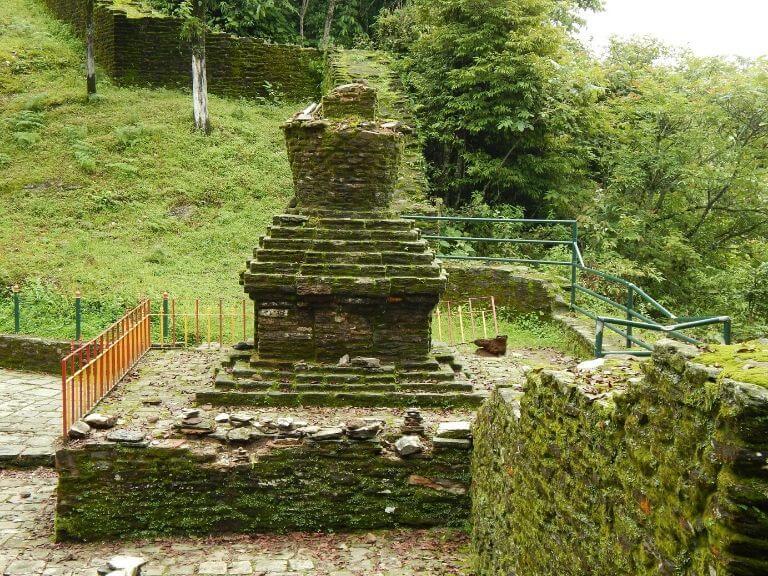 Rabdentse Ruin 1, Pelling