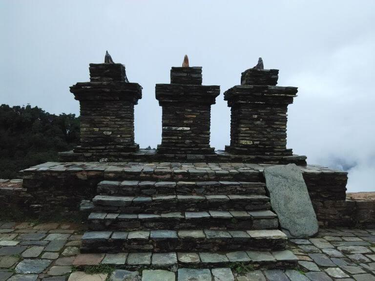 Rabdentse Ruin 3, Pelling