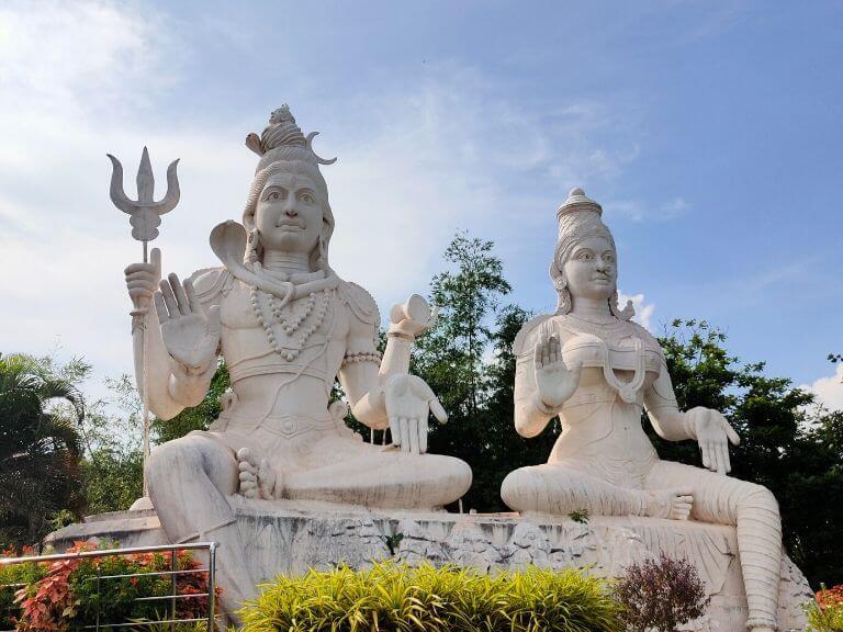 Shiva & Durga, Kailashagiri, Vizag