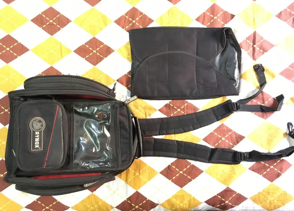 Rynox Optimus M Tankbag Review