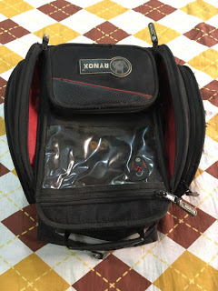 Transparent Pocket, Rynox Optimus M Tankbag