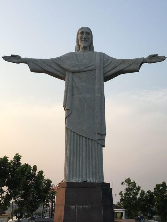 Christ the Redeemer replica, Eco Park 7 wonders