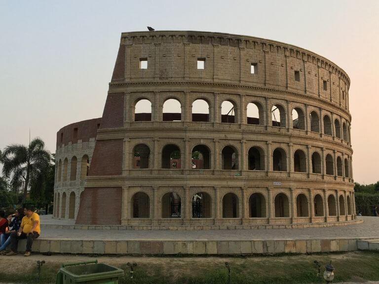 Colosseum of Rome, 7 wonders Eco Park