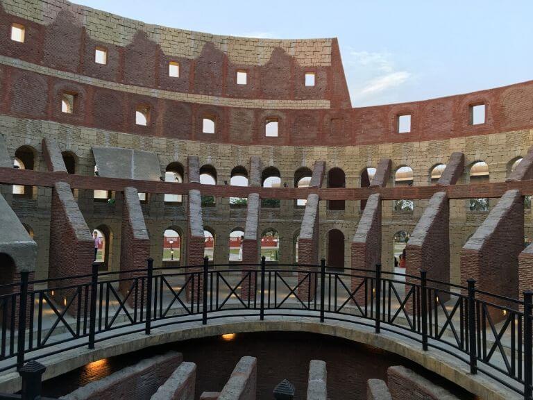 Colosseum of Rome Inside, 7 wonders Eco Park