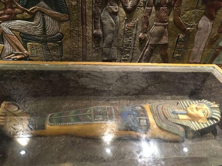 Inside of Giza Pyramid, Eco Park 7 wonders 768X576