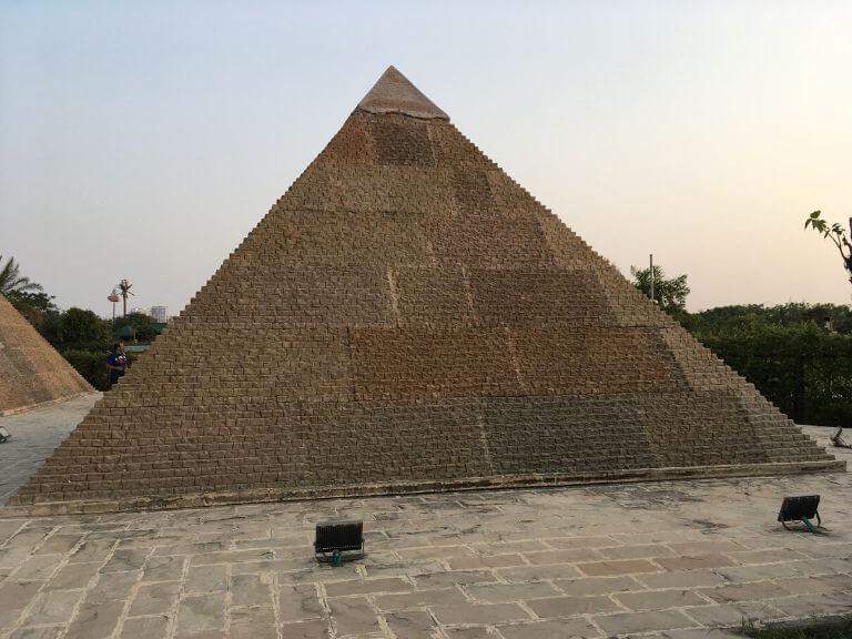Great Pyramid replica, Eco Park 7 Wonders