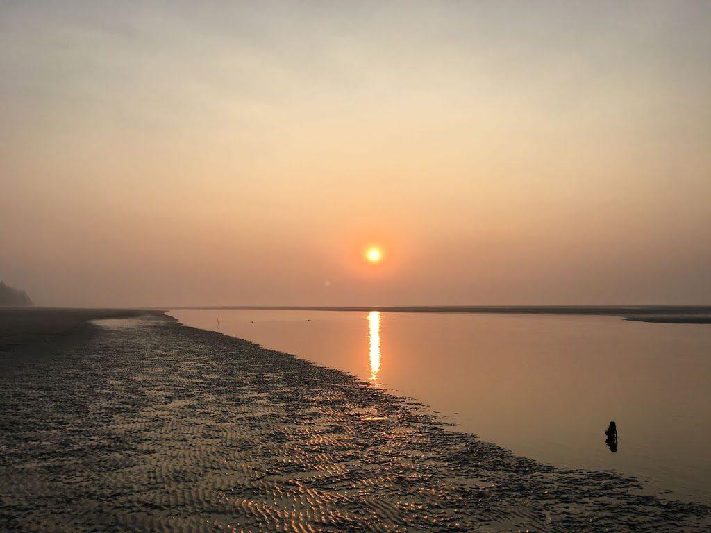 Sunrise at Bakkhali