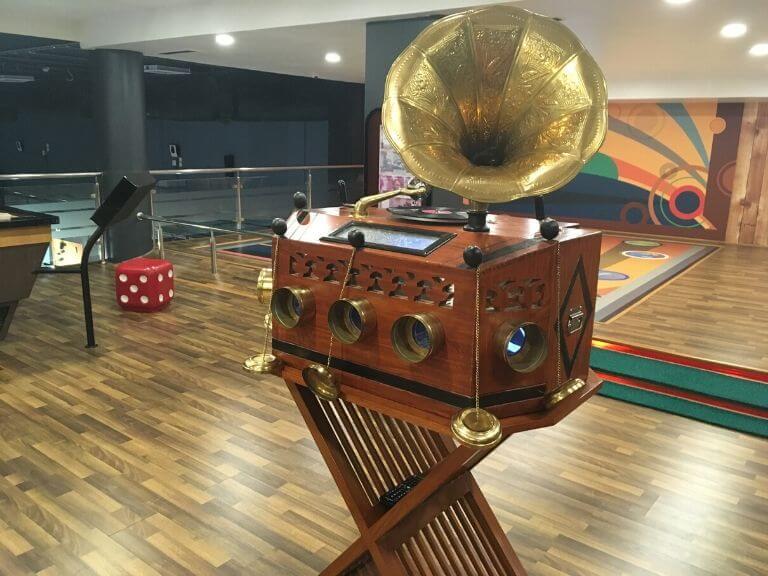 RBI Museum Gaming Zone Game 4