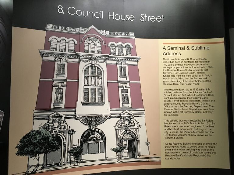The RBI Museum, 8, Council House Street Building