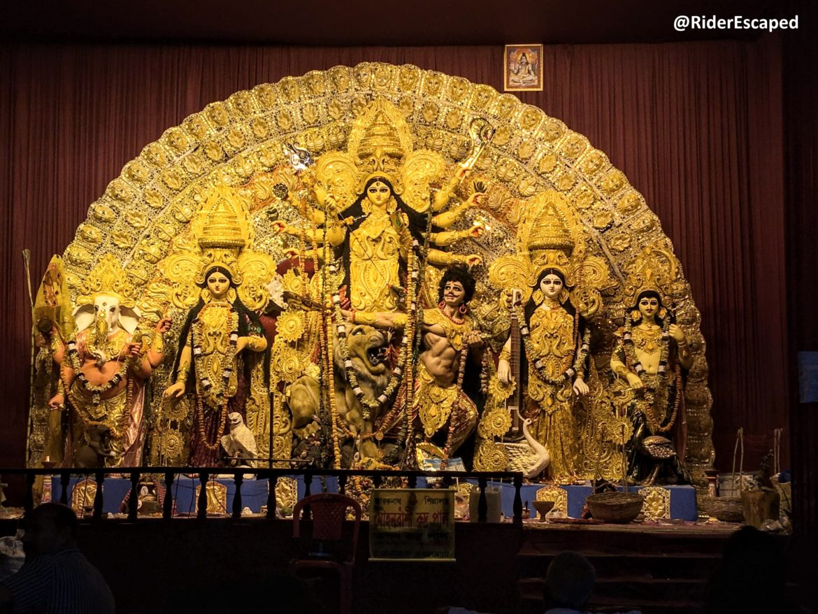North & Central Kolkata Durga Puja Guide Map