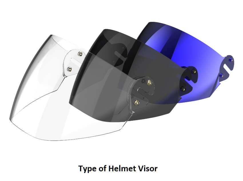 Type of Helmet Visor | How to choose perfect helmet