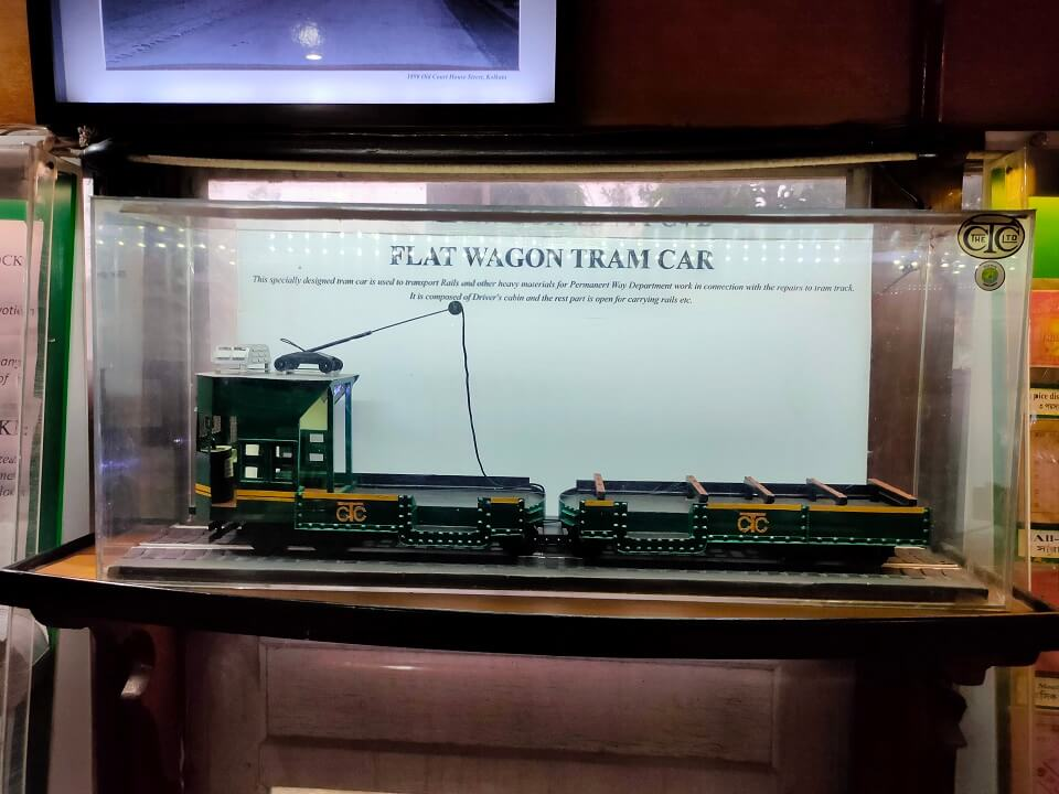 Flat Wagon Tram Car