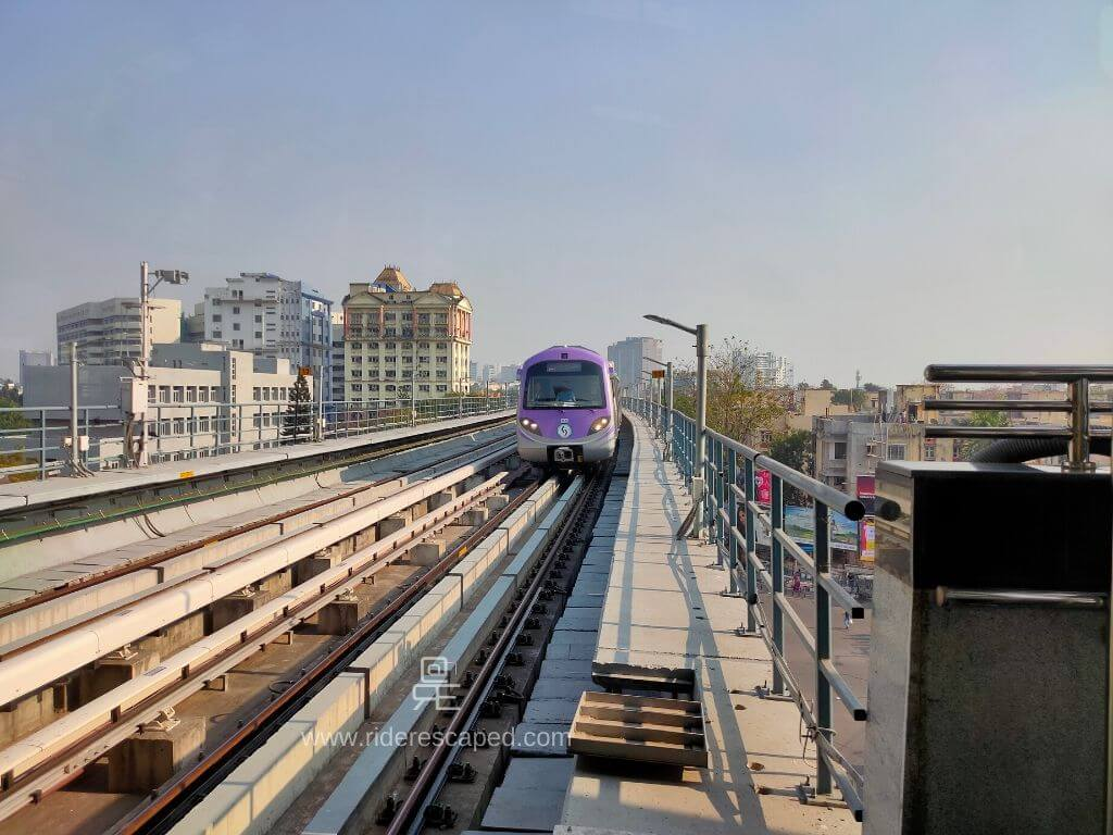Kolkata East West Metro Corridor 2020