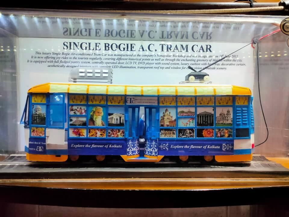 Single Bogie Tram Car