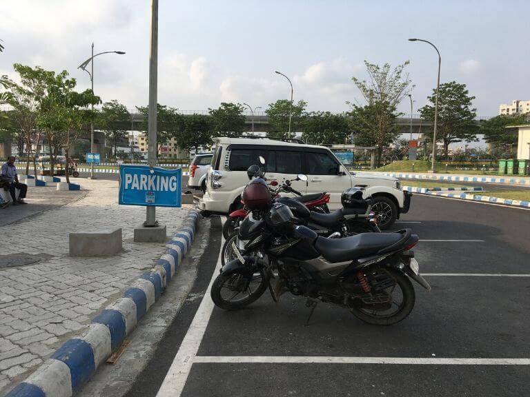 Biswa Bangla Gate Parking