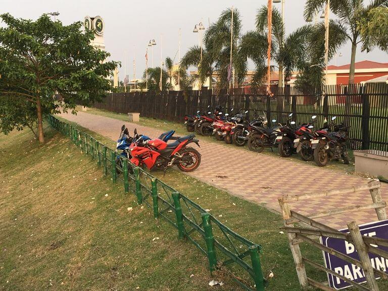 Biswa Bangla Shilpi Haat 2-wheeler Parking