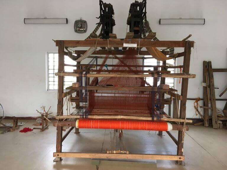Biswa Bangla Shilpi Haat Handloom Weaving Machine 2