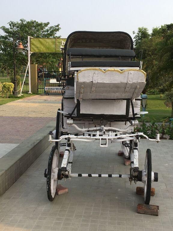 Biswa Bangla Shilpi Haat Horse Cart