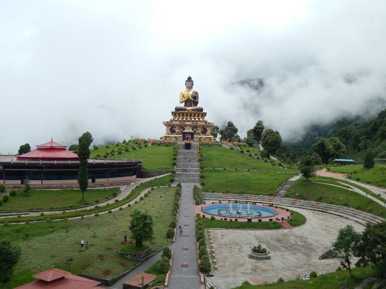 Buddha Park First View, Ravangla