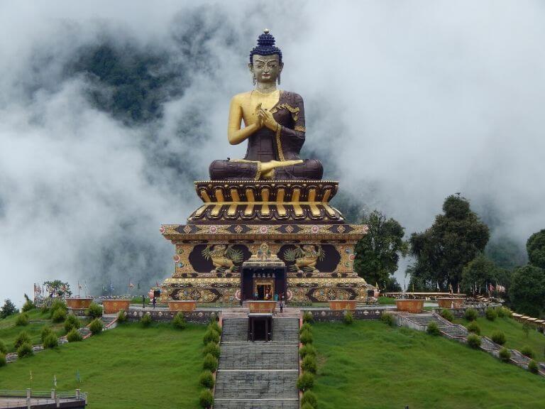 Huge Buddha Statue Buddha Park, Ravangla