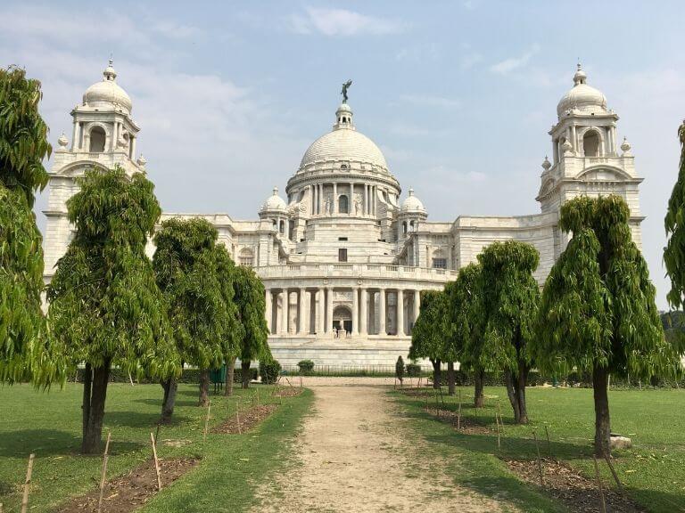 Victoria Memorial Side View