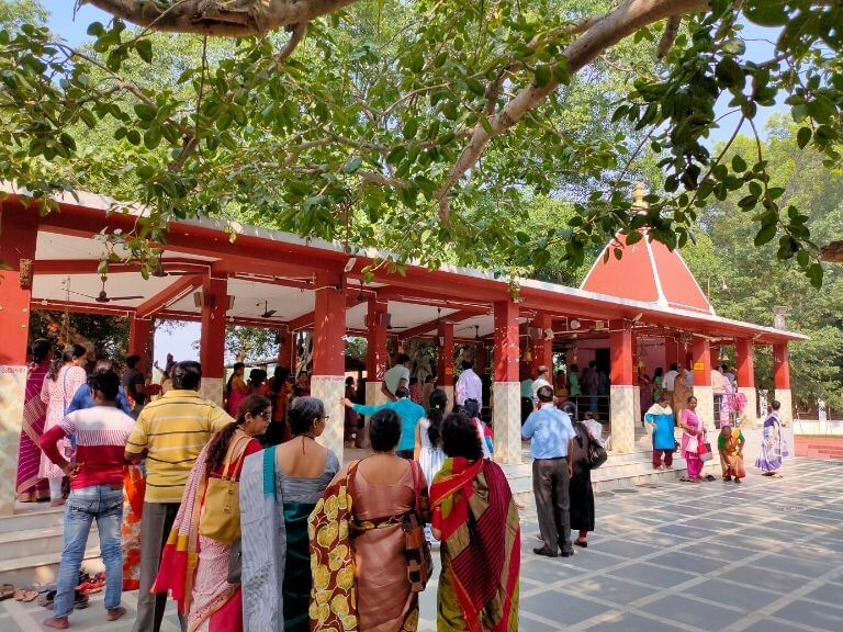 Kankalitala Mandir, Shantiniketan