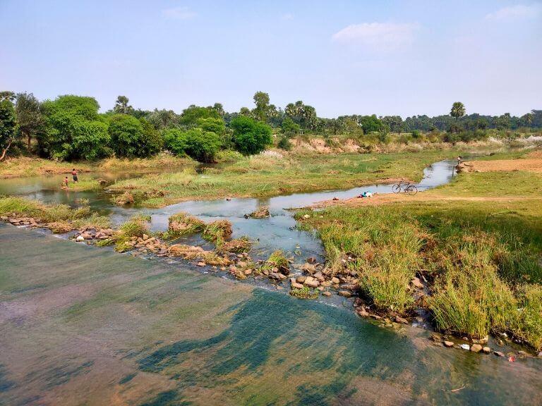 Kopai River View Point, Shantiniketan