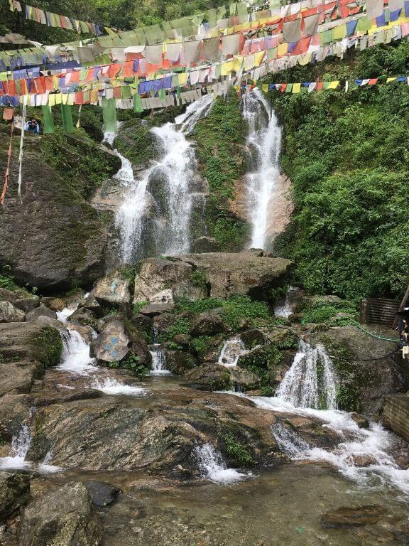 Lhasa Falls, Gangtok