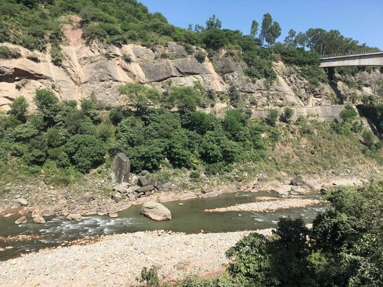 Scenery in between Samba - Udhampur SH