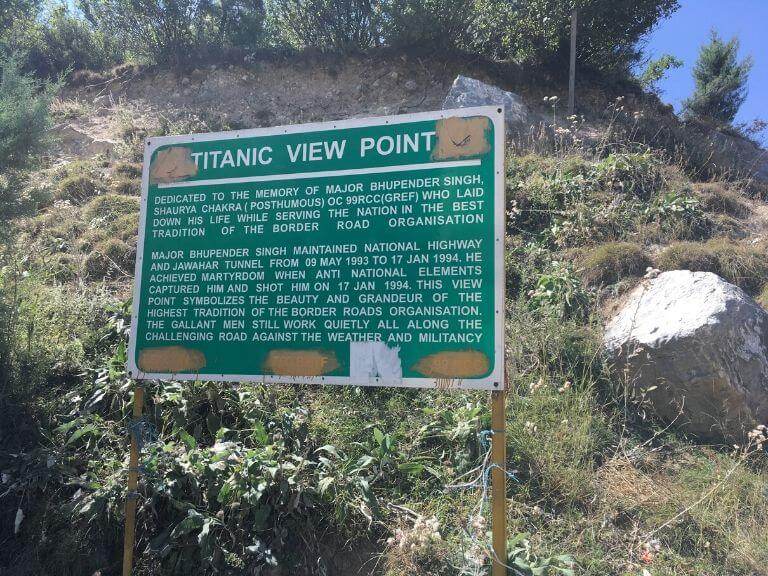 Titanic View Point, After Jawahar Tunnel J&K