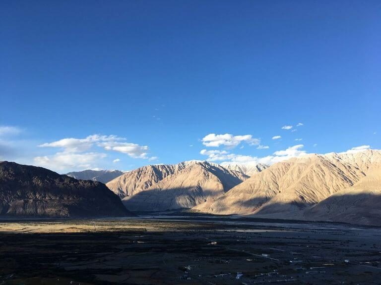 View from Diskit Monastery, Ladakh