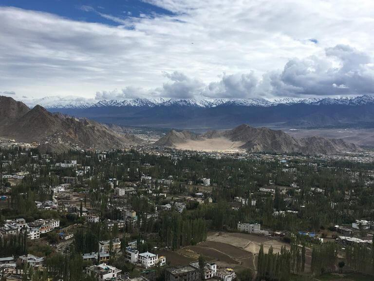 View from Shanti Stupa, Leh