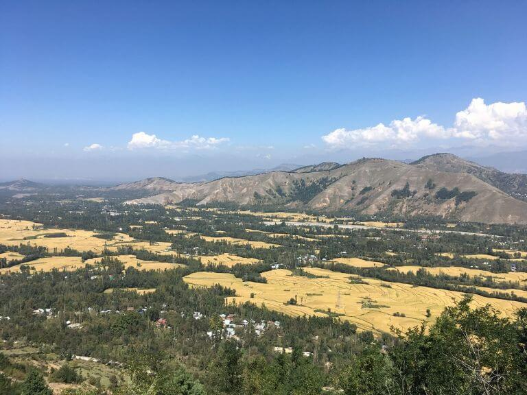 View from Titanic Viewpoint, J&K