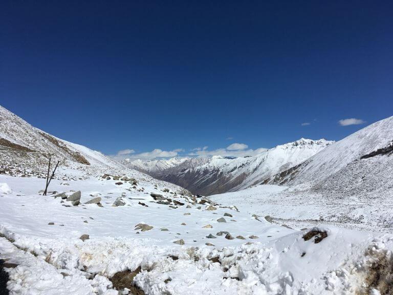 Way to North Pullu, Ladakh