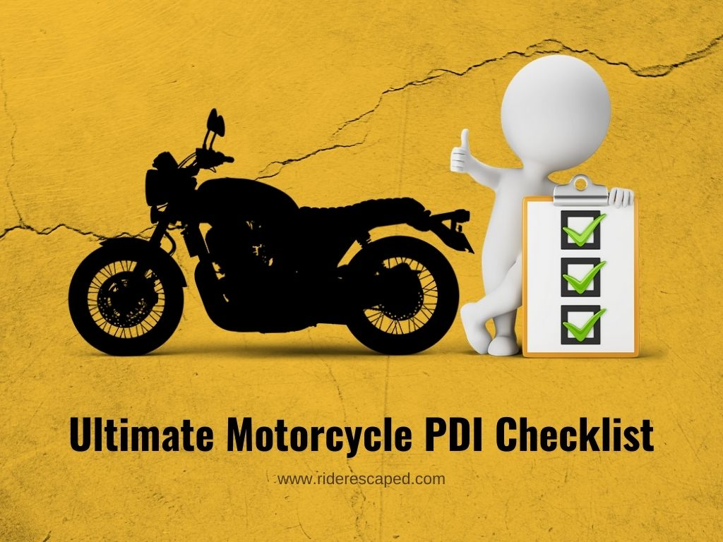 Ultimate Motorcycle PDI Checklist Feature Image