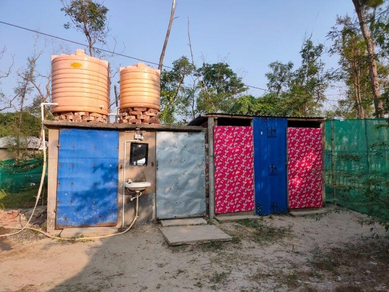 Toilet at Prantik Camp