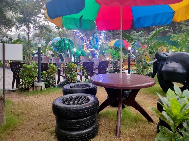 Cafeteria, Kolkata Tyre Park