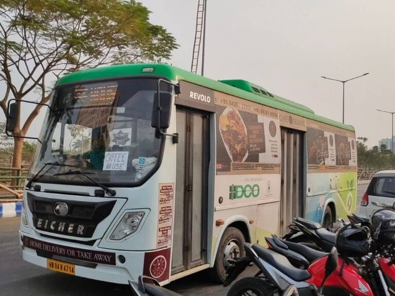 Narkelbagan to Coffee House New Town Bus Service